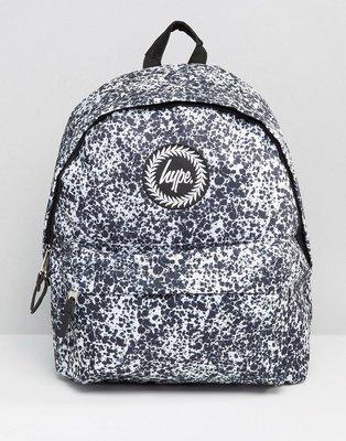 【T4H】Hype Oil Backpack Black 黑色 點點 白底 經典 休閒 男女 百搭 後背包【現貨】