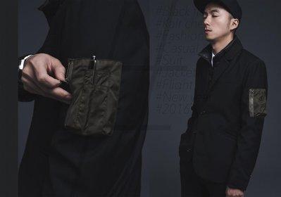 【MASS】2015 A/W Black Flag Suit Detective 軍裝  西裝外套 黑 S