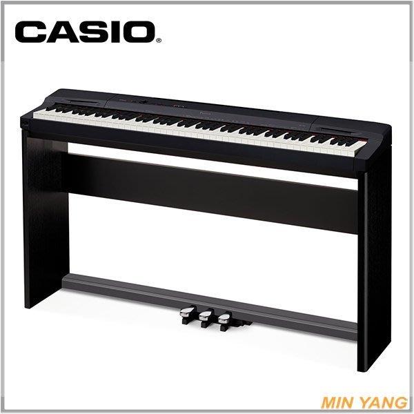 【民揚樂器】數位鋼琴 CASIO PX160 PX-160 有黑色&白色 88 鍵