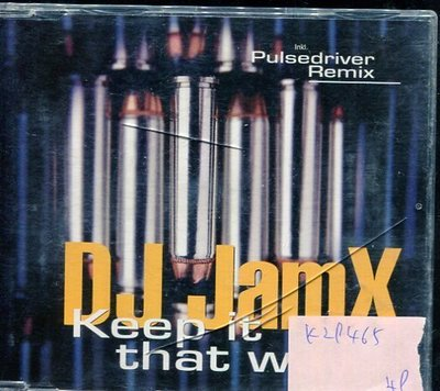 *真音樂* DJ JAMX / KEEP IT THAT WAY 二手 K29465