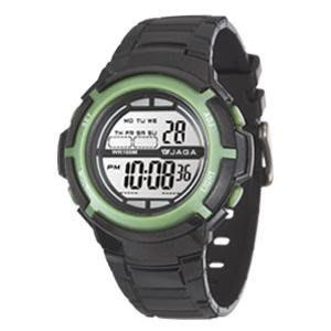 JAGA冷光電子錶 超人氣 上班族 學生錶 大眾錶款 運動錶 生日聖誕節禮物 百米防水 附保固卡 【↘420】M1085