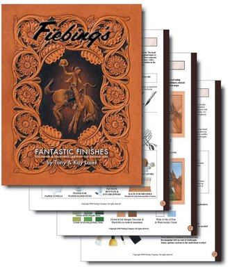 皮雕彩繪技術書籍-FIEBING應用