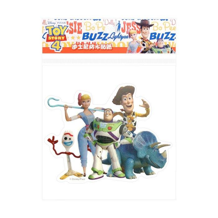 Disney 迪士尼【TOY4 防水貼紙】 Toy Story 玩具總動員 4 裝飾貼紙 HLY-010 菲林因斯特