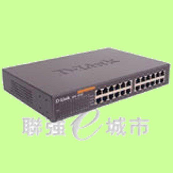 5Cgo【權宇】D-Link DES-1024D 24埠HUB 100M 交換器 6月底前一標六台特價組 含稅會員扣5%