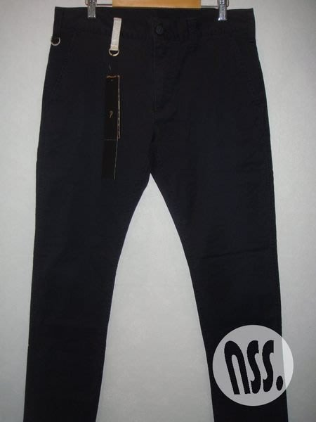 特價「NSS』uniform experiment 12 STRETCH COTTON LOW WAIST SLACKS