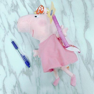 $168 Peppa pig medium angel doll 小天使 soft toy中size 🐷🇬🇧