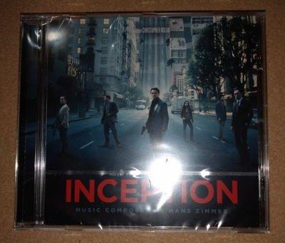歐版CD電影原聲帶《全面啟動》/Hans Zimmer: Inception全新未拆