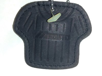 貳拾肆棒球-日本帶回Mizuno限定球衣造型手套皮革鑰匙圈-勝