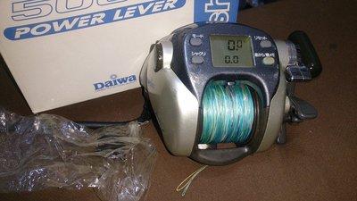 DAIWA SUPER TANACOM-S 500 W 電動捲線器 透抽/白帶/巴朗入門機