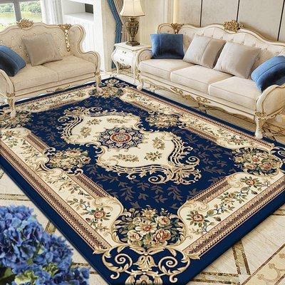 東升歐式客廳茶幾毯沙發奢華地毯臥室床邊墊房間美式家用加厚地墊小猪佩奇
