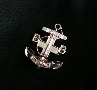 香港基督少年軍 襟章  襟針STEDFAST ASSOCIATION PIN