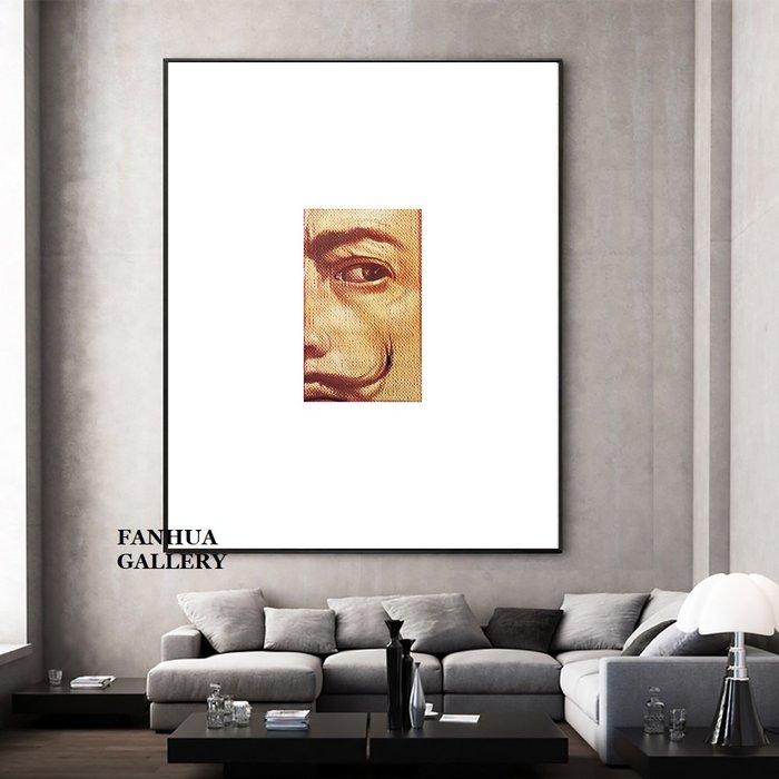 C - R - A - Z - Y - T - O - W - N Dali達利藝術版畫文藝小眾風格掛畫現代極簡人物掛畫art print gallery收藏畫