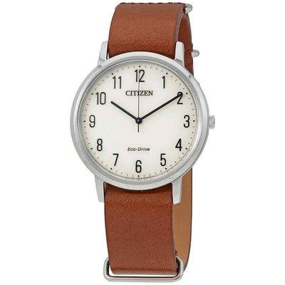 【換日線】CITIZEN BJ6500-21A Chandler Parchment 白色錶盤男錶