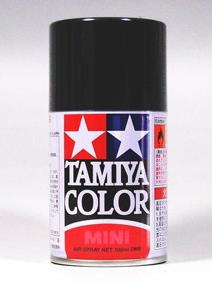 【喵喵模型坊】TAMIYA 噴漆 100ml 消光 橡膠黑色 TS-82 (85082)