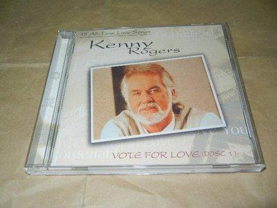 [D寶]CD~Kenny Rogers 肯尼羅傑斯~ Vote For Love 愛的獻禮 1 1997滾石唱片
