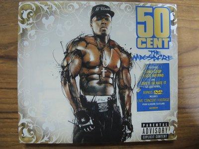 MWM◎【二手CD】50 Cent- The Massacre 五角/街頭大屠殺 歐版,CD+VCD