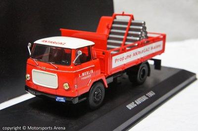 【超值特價】1:43 IXO Unic Auteuil Gas Transporter 1963 氣體運輸卡車
