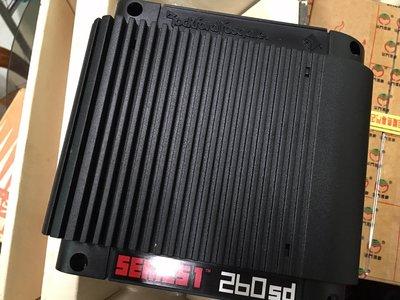 #smart  ROCKFORD  260sd 2聲道擴大機 (珍藏精品、美國製造)