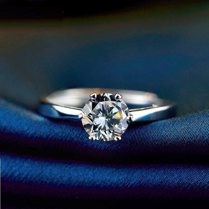 925銀 自由調節尺寸白金色 石閃耀 情人 情之物 節日送禮鍍白金禮物 飾品生配件 手飾 防過敏紀念日 愛的禮物