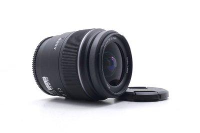 【台中青蘋果】Sony DT 18-55mm f3.5-5.6 SAM 二手 A-Mount 單眼鏡頭 #49638