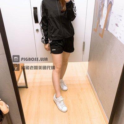 【豬豬老闆】ADIDAS TRAINING 3-STRIPES 黑 運動 慢跑 健身 短褲 女款 DS8725