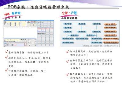 鴻奕進銷存軟體 客服維修 POS軟體 會計軟體 嘉義台南 高雄  銘耀資訊!