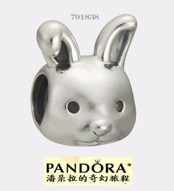 {{潘朵拉的奇幻旅程}}  Remarkable Rabbit Bead 791838