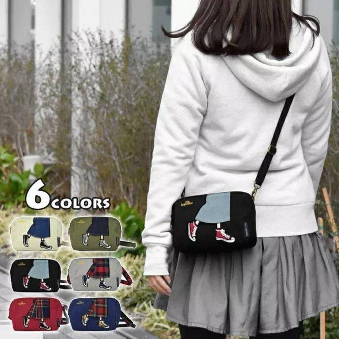 日本 Mis zapatos 刺繡高跟鞋牛仔褲 帆布包包 美腿包 肩背包 斜背包 側背包 後背包 錢包 化妝包 手機包