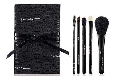 【Qin美妝】  MAC 玩色基礎刷具組-底妝刷具入門必備款