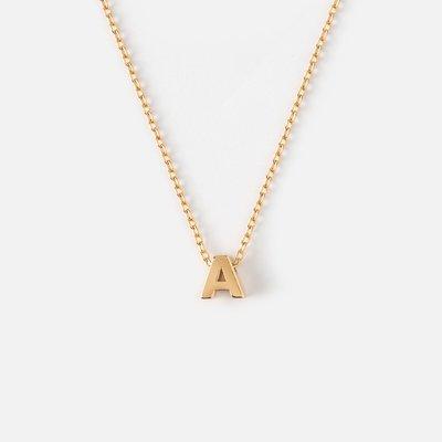 【英倫代購】Orelia London 字母項鍊 PLATED INITIAL NECKLACE(鍍金/鍍銀)字母可選