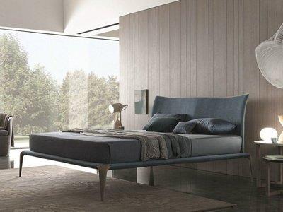 [米蘭諾家具]複刻近原裝Misuraemme margareth bed 雙人床 台灣製造/現代北歐設計款式