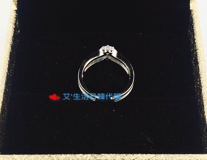 現品 香港正生銀飾  鋯石戒指系列