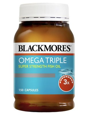 現貨【澳購本舖】Blackmores Omega Triple Concentrated Fish Oil 三倍濃縮魚油