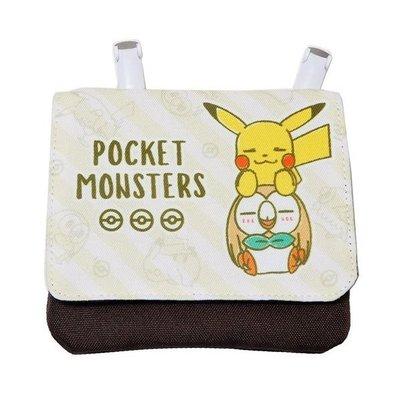 尼德斯Nydus 日本正版 神奇寶貝 Pokemon GO 精靈寶可夢 皮卡丘 夾式 移動面紙包 證件包 票卡包預購