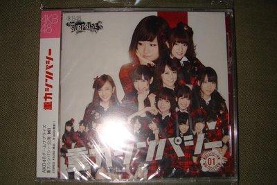 AKB48 Team SURPRISE M01 重力SYMPATHY CD+DVD 2區 全新未拆 日版 現貨