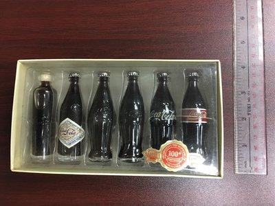 罕有 中古 Coca Cola 可樂 迷你100 週年紀念樽,多年前購於美國