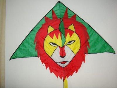 [翔飛戶外休閒] 台灣製造-獅子造型風箏- (160*120公分)+120公分尾巴【直購下標區】