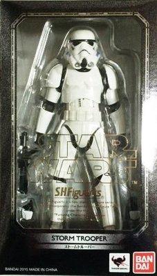 日本正版 萬代 S.H.Figuarts SHF 星際大戰 風暴兵 白兵 可動 模型 公仔 日本代購