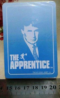 龍廬-出清撲克牌~the apprentice誰是接班人?美國總統唐納.川普年輕造型標誌