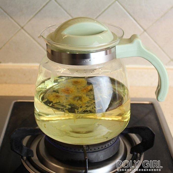 耐高溫玻璃水壺 可直燒冷水壺 涼水壺涼水杯 茶壺 果汁壺 大容量