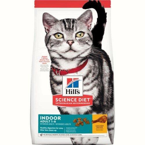 希爾思 希爾斯 Hills 15.5磅 室內貓 生活型態 成貓 1-6歲 雞肉配方 一般飼料 貓用乾糧 貓飼料 [8873] 可刷卡