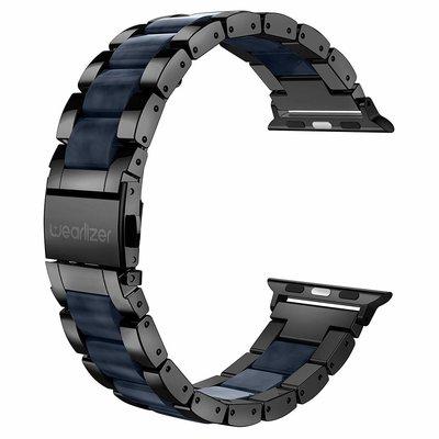 美國【Wearlizer】Apple Watch 手錶錶帶S4 S5 S6 40mm 44mm金屬錶帶 不銹鋼錶帶