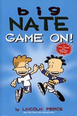 *小貝比的家*BIG NATE GAME ON! /漫畫版/平裝/7-12歲