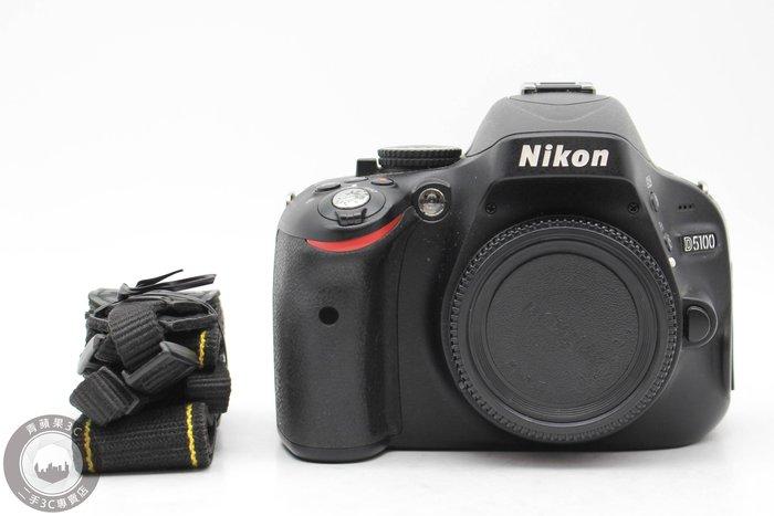 【台南橙市3C】Nikon D5100 單機身 APS-C 快門:6867 二手單眼 #49475