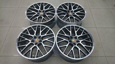 ( 近全新 ) Porsche Macan RS Spyder Designl 正原廠選配 21 吋前後配鋁圈含新胎一組