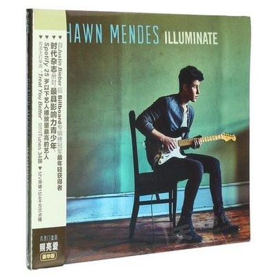優品音像 豪華版 歌詞本 專輯CD Illuminate Mendes 肖恩門德斯Shawn 正版