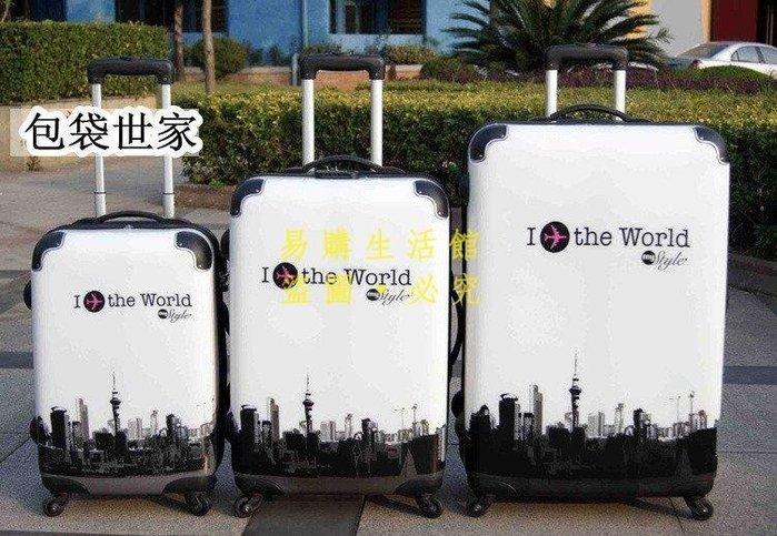 [王哥廠家直销]正品上大學拉桿箱 20寸24寸時尚款旅行箱行李箱超大容量箱包LeGou_242_242