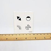 【萌古屋】符號單圖HC-6007 - 防水紋身貼紙刺青貼紙K21