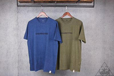 【HYDRA】Madness Cigarette Washed Print Tee 水洗 仿舊 短T【MDNS053】