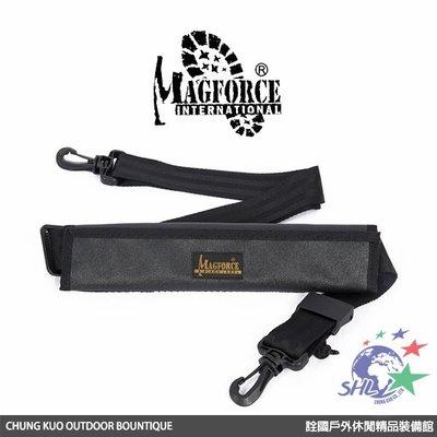 詮國 - 馬蓋先 Magforce - 黑標版 1.5吋肩帶含舒適止滑肩墊(快速調整扣具) / MP0229B02